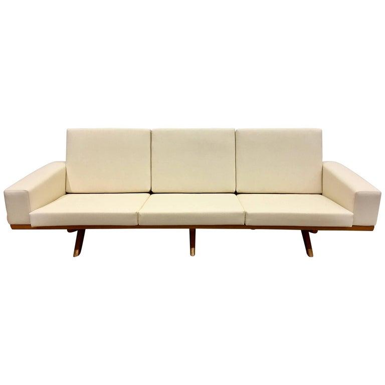 Oak Sofa by Georg Thams for as Vejen Polstermøbelfabrik, 1964