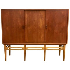 Danish 90 Teak Cabinet by Illum Wikkelsø for Soren Willadsen, 1950s