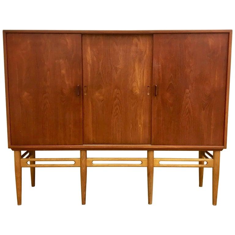 Danish 90 Teak Cabinet by Illum Wikkelsø for Soren Willadsen, 1950s