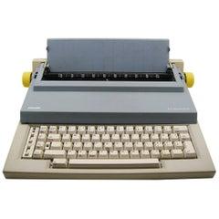 Bellini & Chiarato Typewriter Et 55 for Olivetti, 1980s