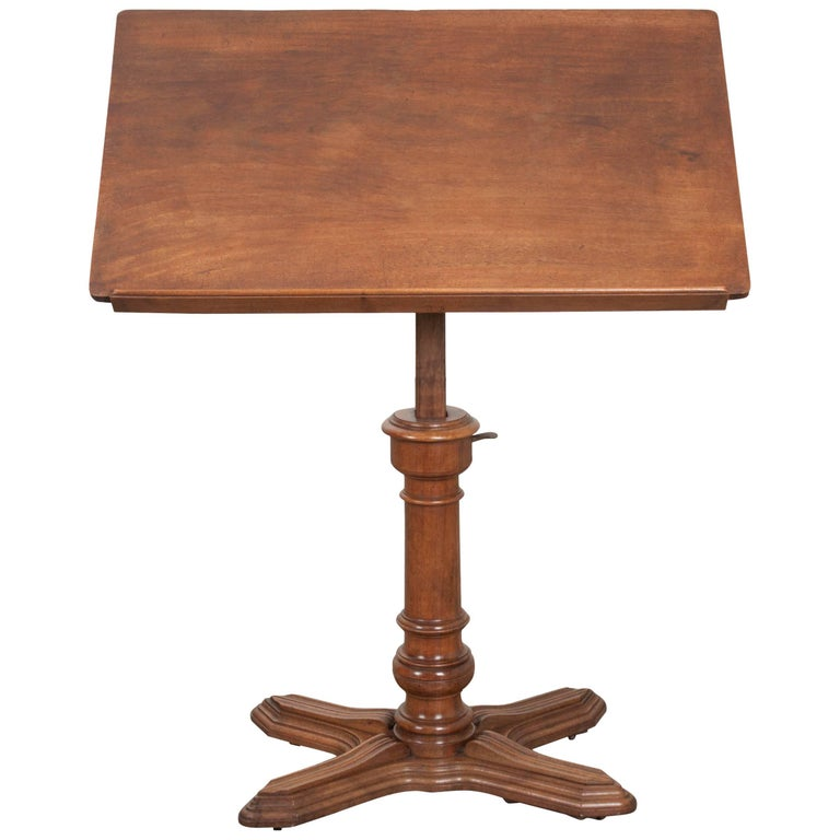 french 19th century mahogany lectern podium for sale at 1stdibs. Black Bedroom Furniture Sets. Home Design Ideas