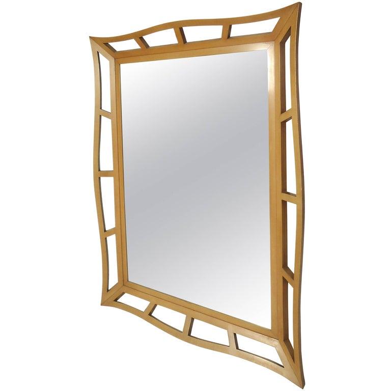 Midcentury Style Wall Mirror