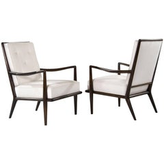 T.H. Robsjohn-Gibbings Wing Arm Lounge Chairs