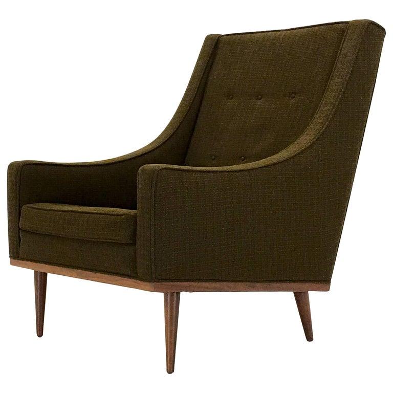 Scoop Chair by Milo Baughman, 1967