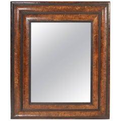 Antique Dutch Baroque Style Mirror