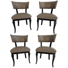 Set of Four Maison Jansen Side Chairs