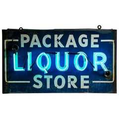 1940 Advertising Neon Liquor Sign