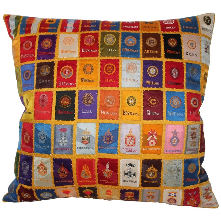 Cigar Silk Premiums Quilted Pillow