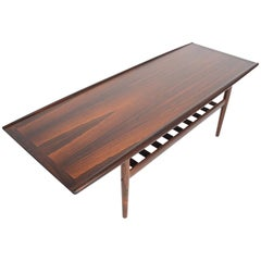 Grete Jalk Brazilian Rosewood Coffee Table