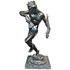 Robert Aitken, Forest Spirit, American Art Deco Bronze Sculpture, circa 1920s