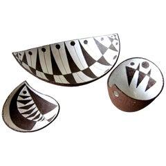 Thomas Toft Danish Modernist Ceramic Bowls
