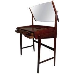1960s Danish Teak Vanity Table, Dressing Table by Svend Aage Madsen