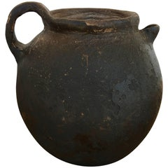 Mid-20th Century Ceramic Teapot from Central Mexico
