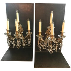 Pair of French Girandoles Sconces