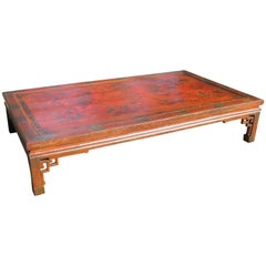 Oversize Chinese Low Table Coffee Table