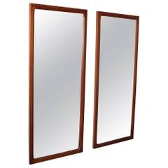 Aksel Kjesgaard Teak Mirrors