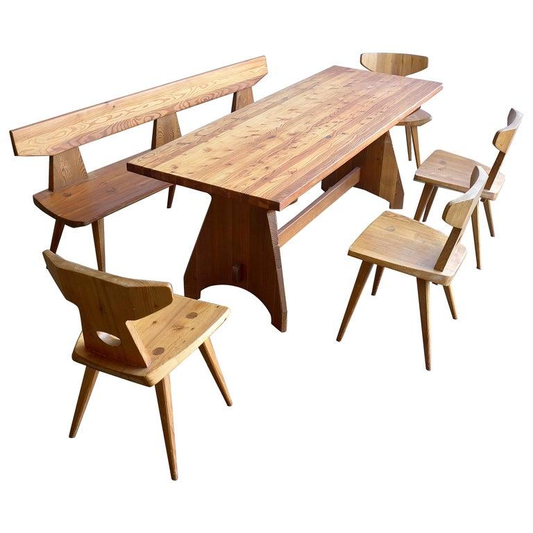 Dining Room Set By Jacob Kielland Brandt For I