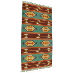 Indian Style Kilim Carpet / Rug