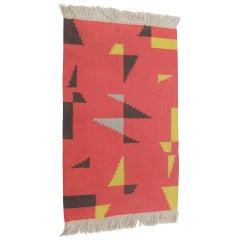 Geometric Kilim Carpet or Rug