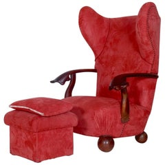 Big Extraordinary Armchair, circa 1920s