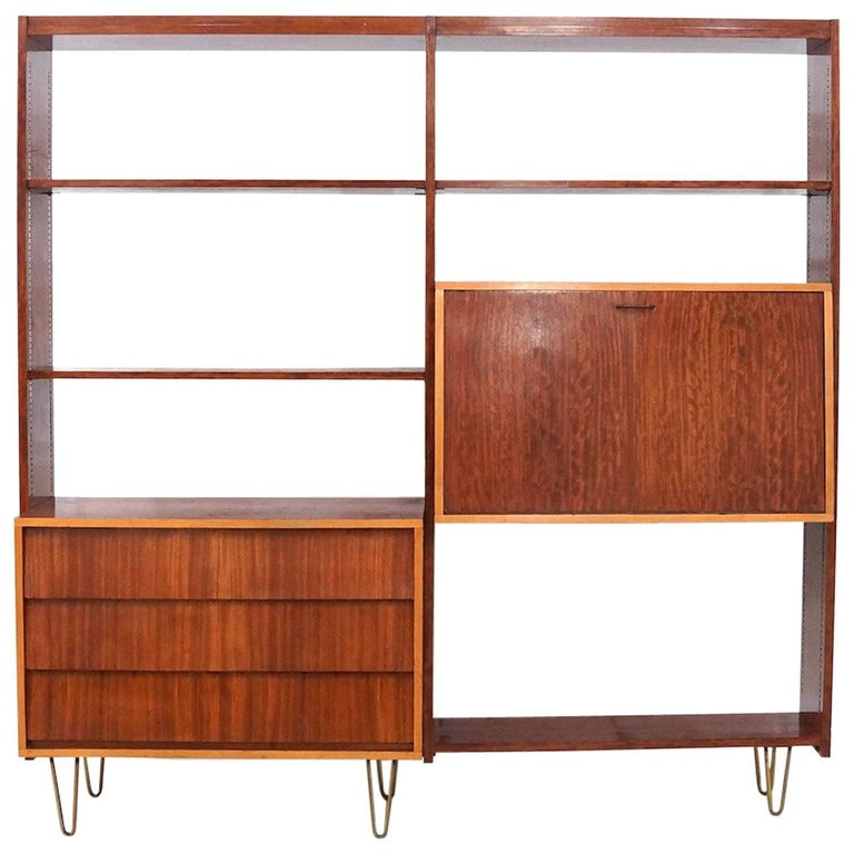 Ultra Rare Alfred Hendrickx Wall Unit 1950s for Belform