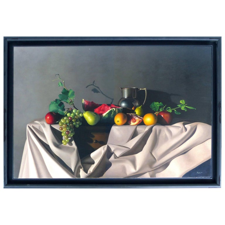 Still Life Oil on Canvas in the Hyperrealistic Style by Nicolas Fasolino