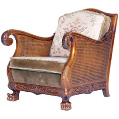Beautiful Vintage Carved Armchair