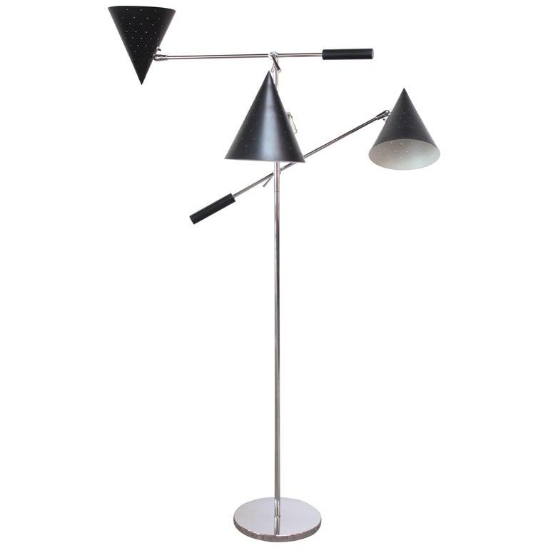 Triennale Style Floor Lamp by Lightolier