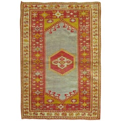 Antique Turkish Melas Rug