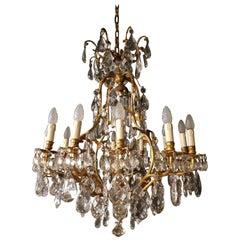 Crystal Chandelier Antique Ceiling Lamp Lustre
