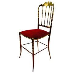 Brass Chair by Charivari