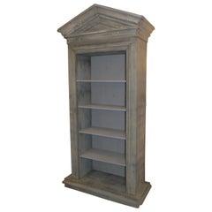 19th Century French Zinc Bibliotech