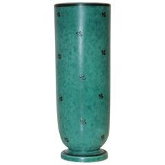 1940s Wilhelm Kage Argenta Vase