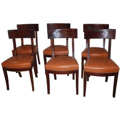 Beautiful Set of French Directoire Chairs