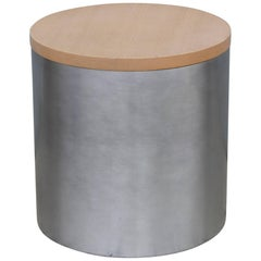 Paul Mayen Stainless Side Table