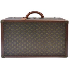 Small Louis Vuitton Hard Case Suitcase, circa 1950s
