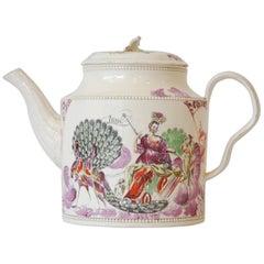 Teapot, Juno, Queen of the Gods, Greatbatch, circa 1785