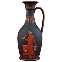 Encaustic Painted Vase, Wedgwood, circa 1810