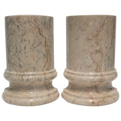 Marble Column Bookends