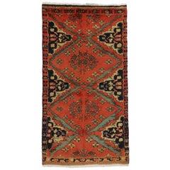 Vintage Persian Hamadan Rug, Entry or Foyer Rug