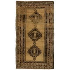 Vintage Persian Hamadan Gallery Rug with Tribal Style