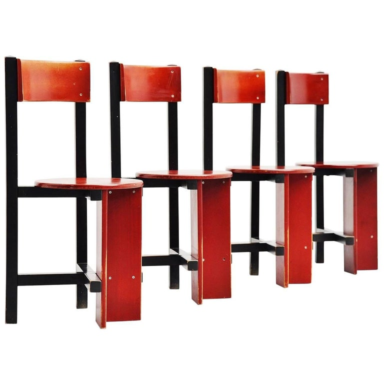 Piet Blom Bastille Chair for Twente Institute of Technology, 1964 For Sale