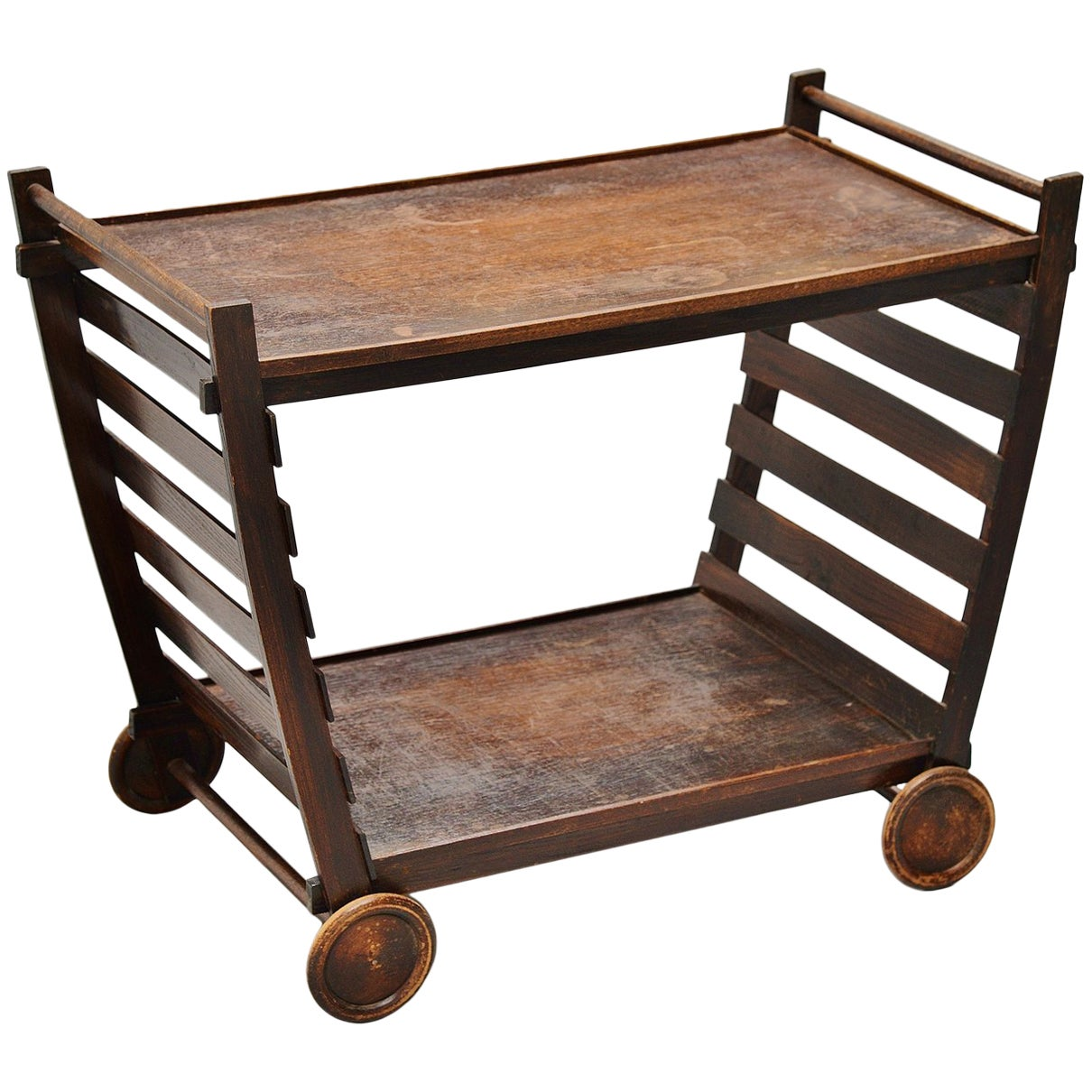 Gerrit Rietveld Tea Cart Metz & Co, circa 1945