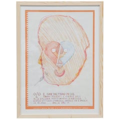 Gaetano Pesce Exhibition Poster Bernini, Italy, 2001