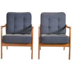 Pair of Ole Wanscher FD109 Armchairs, 1960s