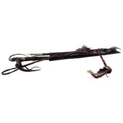 Dayak Mandau Traditional Weapon of Borneo Indonesia