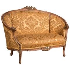 Schönes Elegantes Französisches Sofa Canapé im Louis Seize Stil