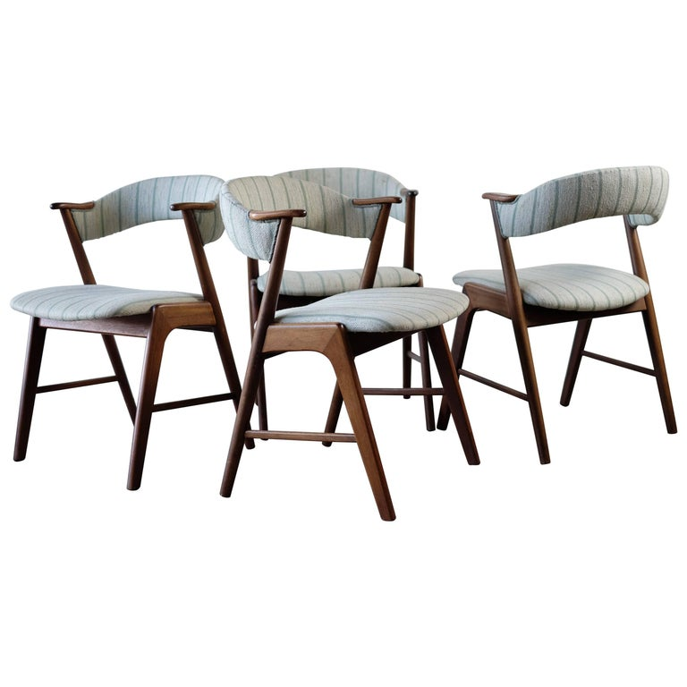 Beautiful Dining Chairs by Kai Kristiansen, 1960s