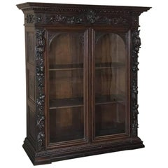 19th Century French Renaissance Barrister's Bookcase