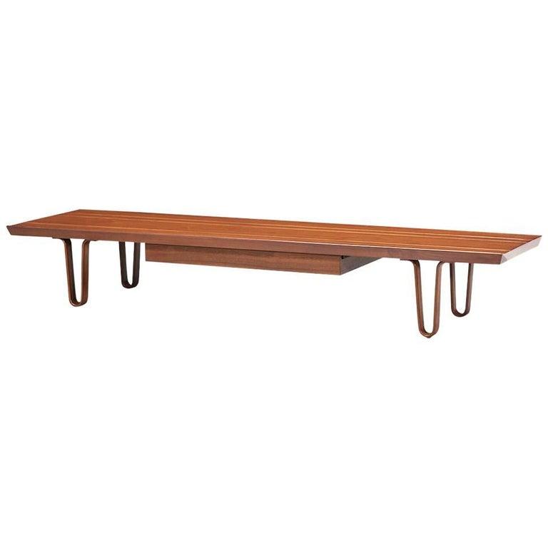 "Edward J. Wormley ""Long John"" Bench or Coffee Table for Dunbar"
